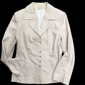 CODIA Ladies' cream coloured lined blazer